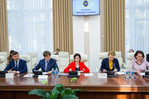 GOVERNMENT'S PRIORITY REFORMS, DISCUSSED DURING WORKING MEETING WITH EU HIGH LEVEL ADVISERS